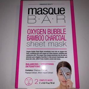 Masque Bar Oxygen bubble bamboo charcoal mask